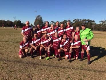 Over 45 Reserves Premiership Winners