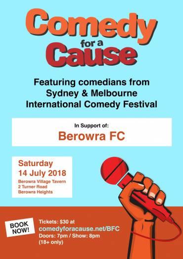 Berowra FC Comedy Night