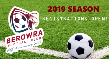 2019 Registrations are now open!