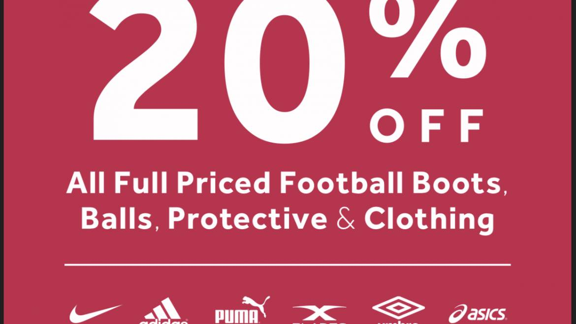 20% Off at Rebel this weekend