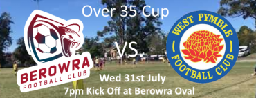 Over 35 Cup vs West Pymble