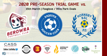 2020 First Pre-Season Trial Game