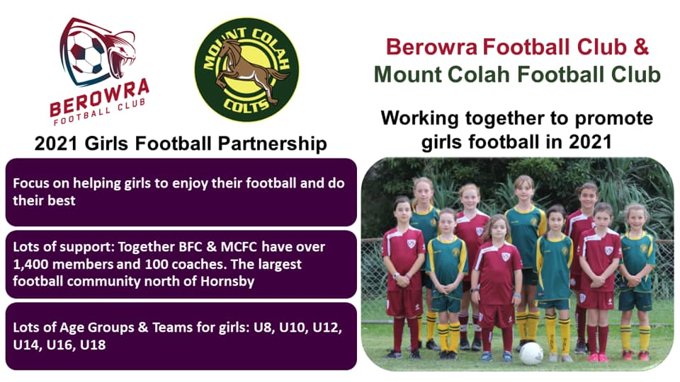 NEW FACE OF FEMALE FOOTBALL NORTH OF HORNSBY