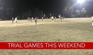 Trial Games this weekend