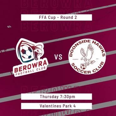 FFA Cup vs Doonside Hawks