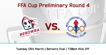 FFA Cup Round 4 vs Wollongong Olympic